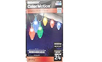 Light Show Color Motion, C9, 24ct