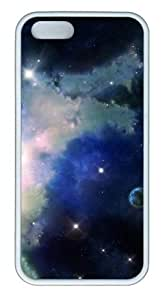 Cosmic space N002 TPU White funny iphone 5S cases for Apple iPhone 5/5S