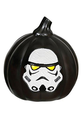 Star Wars Stormtrooper Black Pumpkin - Star Wars Pumpkins