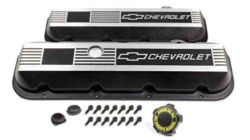 Gm Performance Parts Valve Cover (GM Parts 12495488 Short Aluminum Valve Cover for Big Block Chevy)