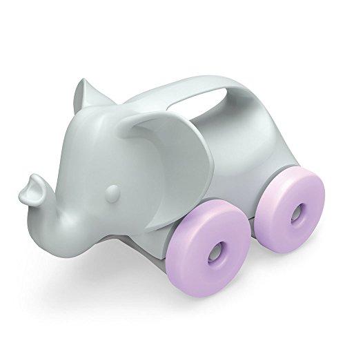 Toy Elephant -on-Wheels by Green Toys, Grey/Purple