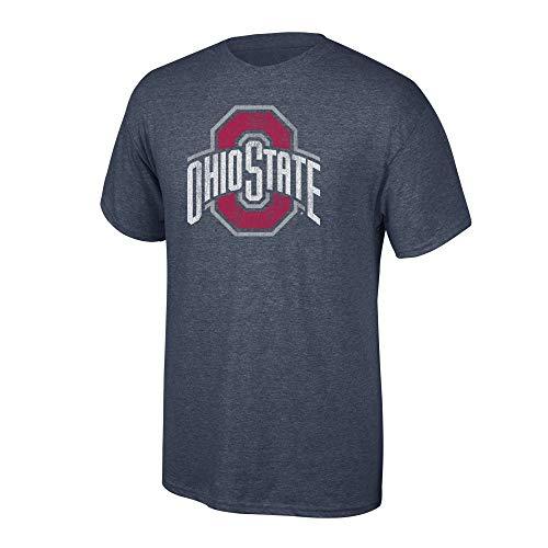 Elite Fan Shop NCAA Men's Ohio State Buckeyes T Shirt Charcoal Vintage Ohio State Buckeyes Charcoal XX Large]()