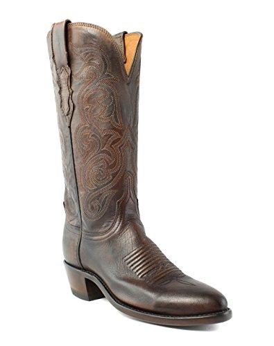 Stivali Western Da Cowboy In Pelle Di Pero Antico Lucchese N4769.r4 Annie