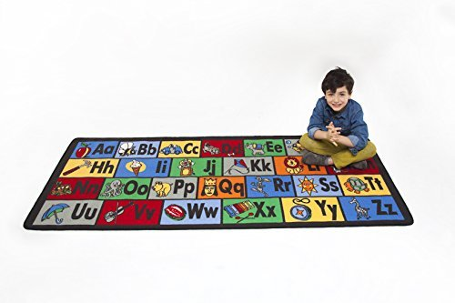 Learning Carpets Learn The ABC LC 122 by Learning Carpets