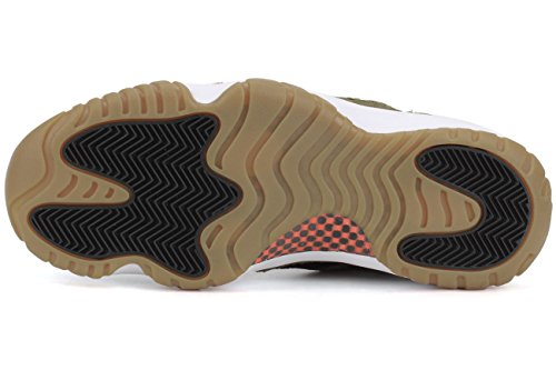 Nike Multicolore Air 23 Donna 11 infrrd Low Verde Grn Sandali Jordan Blk Yllw Negro gm Retro Mlt ppAwn0rx
