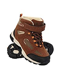 Mountain Warehouse Forest Junior Waterproof Boots - Kids Rain Shoes