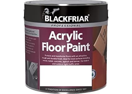 Blackfriar Acrylic Floor Paint White 2.5L Tor Coatings
