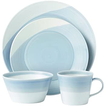 Royal Doulton 1815TW25069 Dinnerware Set Blue 4-Piece  sc 1 st  Amazon.com & Amazon.com: Royal Doulton 1815TW25069 Dinnerware Set Blue 4-Piece ...