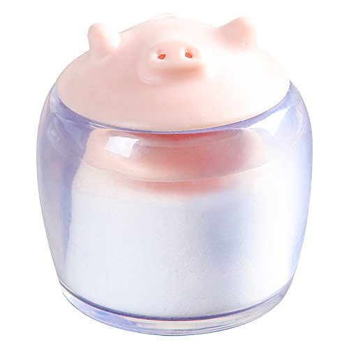 Blue Stones Cute pig style Seasoning Box Salt Sugar Pepper Shaker Condiments Bottle Holder Kitchen Table Supplies