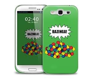 bazinga balls Samsung Galaxy S3 GS3 protective phone case