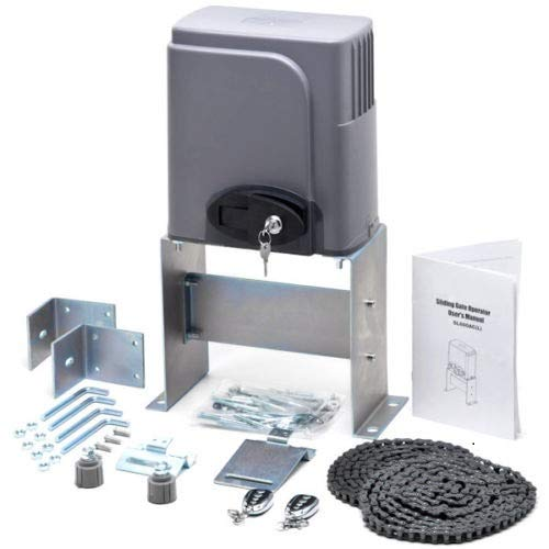CO-Z Automatic Sliding Gate Opener Hardware Sliding Driveway Security Kit (Sliding Gate Opener) ()