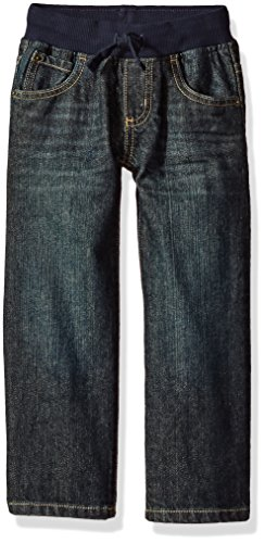 Gymboree Toddler Boys' Pull-on Straight Jeans, Medium Wash Denim, - Gymboree Boys Jeans