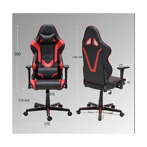 Gaming-chair-computer-chair-game-chair-office-chair-new-victory-gaming-chair-home-office-computer-chair-swivel-chair-game-seat-black-red-Blackred