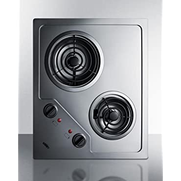 Summit CR2B122 Electric Cooktop
