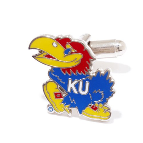 Kansas Jayhawks Cufflinks (NCAA Kansas Jayhawks Cufflinks)