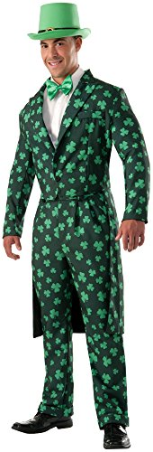 Forum Novelties Men's Shamrock Costume Formal Suit, Green,