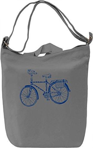 Bike Borsa Giornaliera Canvas Canvas Day Bag| 100% Premium Cotton Canvas| DTG Printing|