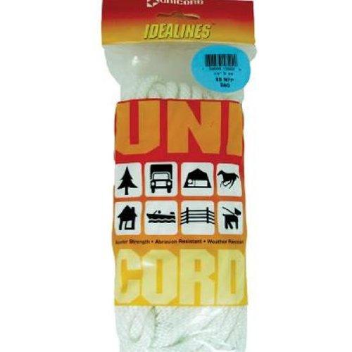 Unicord Rope Sb Nyl 1/4x50' Wht ()