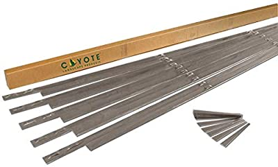 Coyote Landscape Products 636024 RawEdge Landscape Edging, Raw Steel