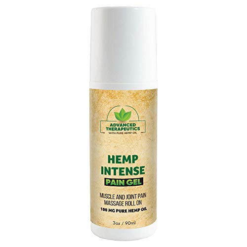 Hemp Oil for Pain Relief Roll On 3 Ounce 500MG Pure Hemp Oil for Pain Provides Cooling Knee Pain Relief- Pain Cream in NO Mess Pain ROLL. Back Pain Relief Cream with Arnica for Pain Relief. Pain rel