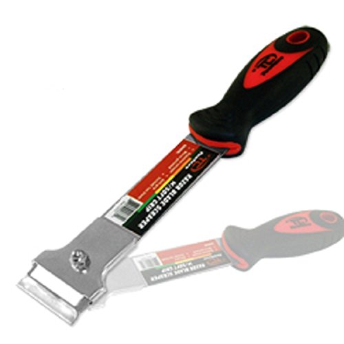 Tooluxe Razor Blade Scraper w/ Soft Grip Paint Wallpaper Removal Tool by A & E Hand Tools