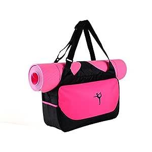 Bolsa Unisex para Esterilla de Yoga, Esterilla de Yoga, Bolsa de Deporte para el Hombro, Impermeable para Pilates, Funda para Mochila