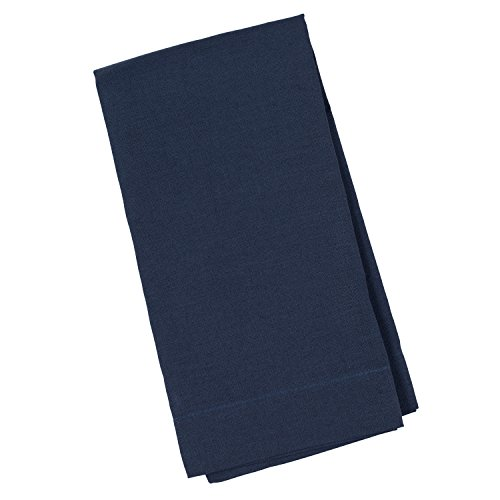 Huddleson Navy Blue Pure Linen Napkin 20x20 (Set of Four)
