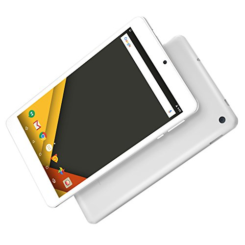 Yuntab 7 inch Android6.0 Tablet PC Alloy metal back C7 Quad Core IPS 8001280 Screen 2GB+16GB with WIFI GPS and Dual Camera (silver) by Yuntab (Image #4)