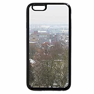 iPhone 6S / iPhone 6 Case (Black) Winter Townscape