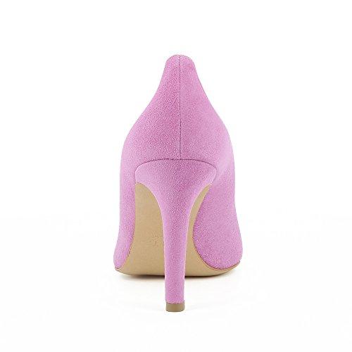 Evita Femme Ilaria Daim Escarpins Shoes Violet rtrTqZw