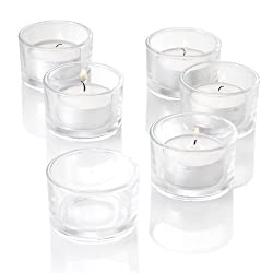 Eastland Tealight Candle Holders Clear Set of 72