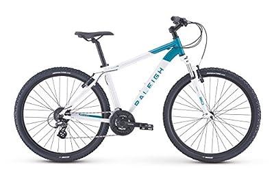 """Raleigh Bikes Eva 2 Women's Recreational Mountain Bike 13"""" Frame, White"""