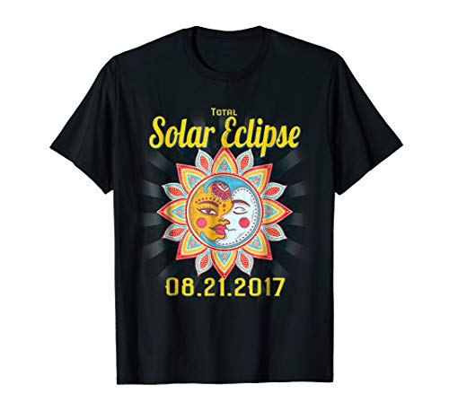 Sunburst Total Solar Eclipse TShirt August 2017