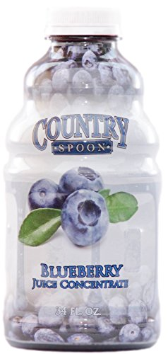 Blueberry Juice Concentrate by Country Spoon | 34 oz.