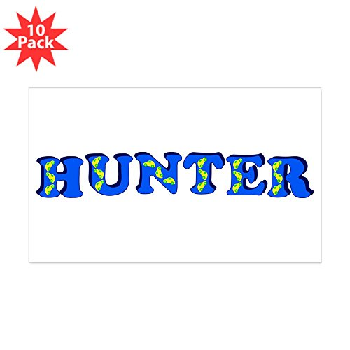 CafePress - Hunter - Rectangle Bumper Sticker (10-pack), Car Decal