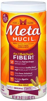 Metamucil Meta Orig Cours Size 114ds Metamucil Meta Original Coarse Sug 114 Ds by Metamucil