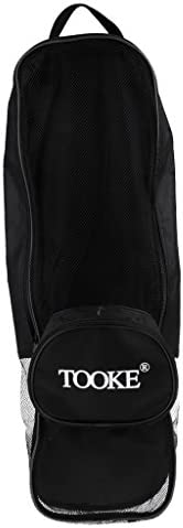 Heavy Duty Mesh Dive Gear Bag for Scuba and Snorkeling Equipment, Features Exterior Accessory Pocket & Adj