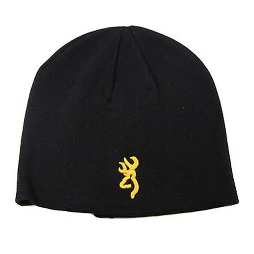 Browning Beanie, Black, Fitted
