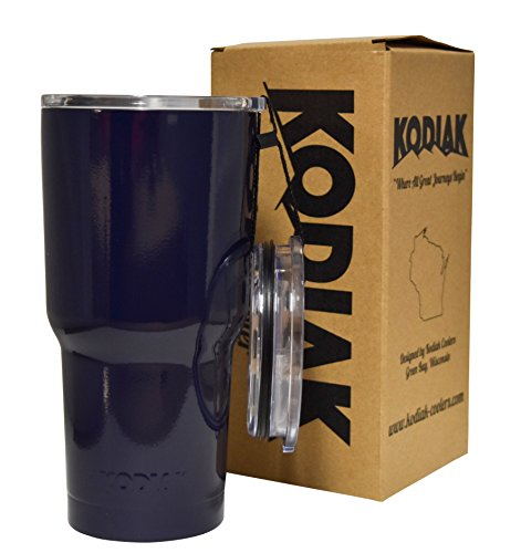 Kodiak Coolers Vacuum Insulated Tumbler Two Lids - Stainl...