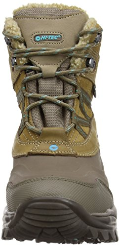 Hitachi Snow Peak 200 Wp Women'S - Botas de montaña Beige (Taupe/Mint 041)