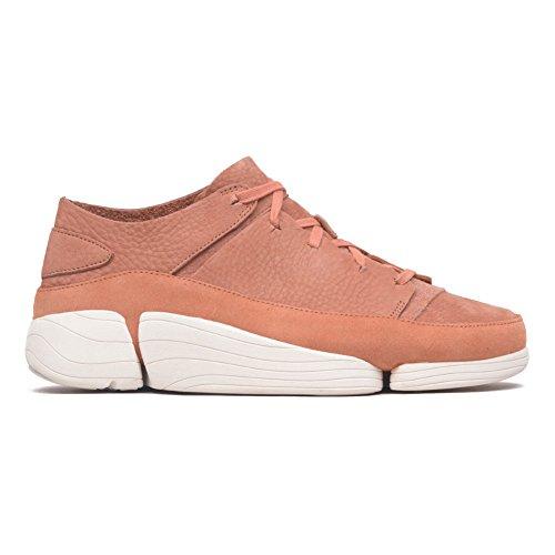 Nubuck Uomo Trigenic Sneaker Bianco Clarks Evo Sandstone xY8Z1vvqn