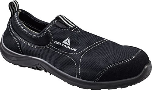 MENS DELTA PLUS LIGHTWEIGHT CLOG STEEL TOE CAP WORK SAFETY BOOTS SHOES TRAINERS