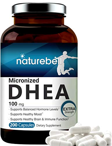 Maximum-Strength-DHEA-100mg-200-Capsules-Supports-Energy-Level-Metabolism-Stamina-for-Men-and-Women-No-GMOs-Made-in-USA
