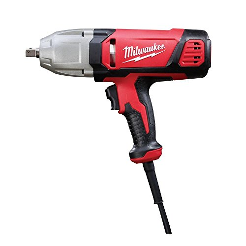 Milwaukee 9070-20 1/2-Inch Impact Wrench with Rocker Switch and Detent Pin Socket...