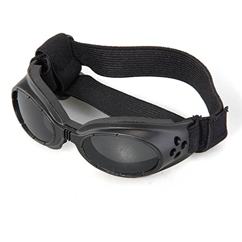 Crazo Sonnenbrille Goggles Hundebrille Sonnenschutz Brille für Hunde