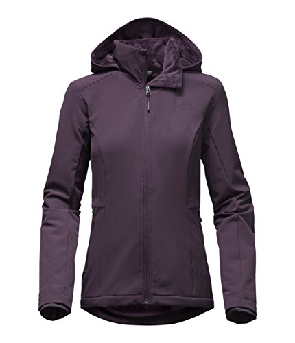 30159716bca3 The North Face Women s Shelby Raschel FZ Hoodie Dark Eggplant Purple Size  Large by The North