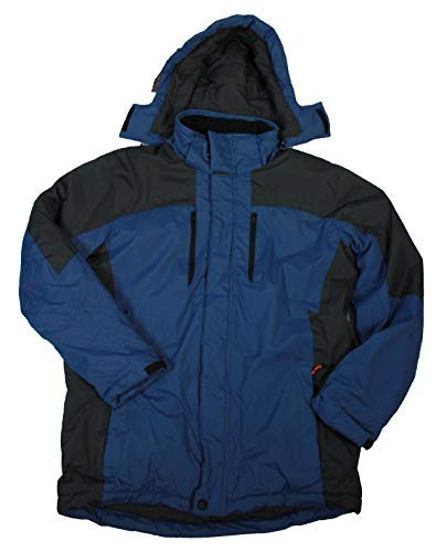 Blueprint Carbon LT Outfitter Mens Big Tall New Haven Ski Jacket Hawke Co