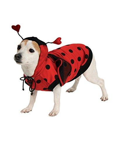 [Rubie's Lady Bug Pet Costume, Large] (Pet Ladybug Costume)