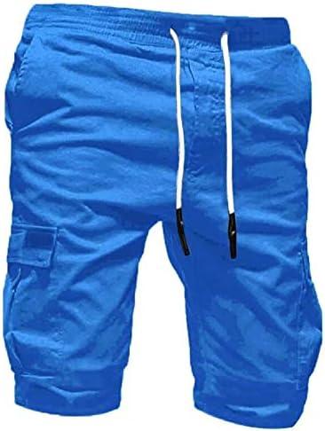 Pants Fitness Shorts Herren Outdoor Taschen Strand Arbeit Hosen Cargo Pant M/änner Sommer Freizeit Sport Shorts Kurze Hose lose Tarnung Patchwork Overall Shorts Hosen