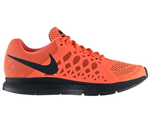 NIKE Air Pegasus 31 Ladies Running Shoe, Orange/Black, US10.5
